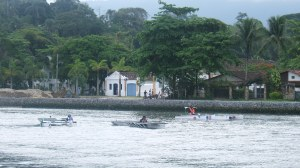 The Paraty canal during the race